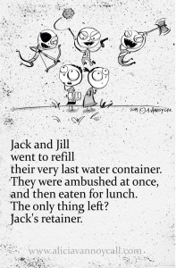 Jack And Jill W This Rhyme Made Me Laugh It Still Does