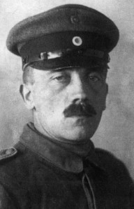 Portrait of Hitler during WW1