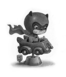 Little Batman type fan art Bat Dude
