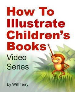 Cover of How to Illustrate Children's Books, the Art Lesson Video Series