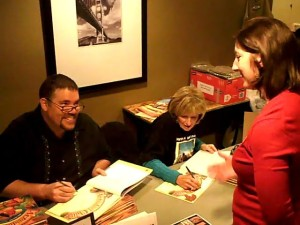 Will Terry and Helen Ketteman at the CTA Book Signing in LA
